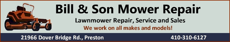 Bill & Son Mower Repair - Click Here For More Info!