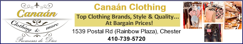 Canaan Clothing in Chester MD