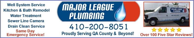 Major League Plumbing- Click Here For More Info!